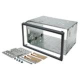 2DIN / 2ISO kovové rámečky