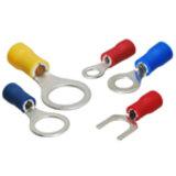 Izolovaná kabelová oka a vidličky