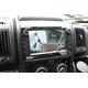 CCD parkovací kamera Fiat Ducato - zobrazení na monitoru