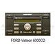 Ford autorádio Visteon 6000CD