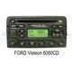 OEM autorádio Ford 6000 RDS