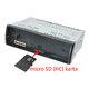 CALEARO ES-6180DAB - micro SD karta