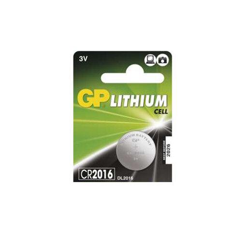 GP CR2016 baterie - lithium 3V