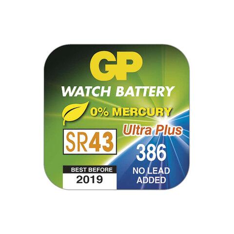 GP 386F knoflíková baterie 1,55V