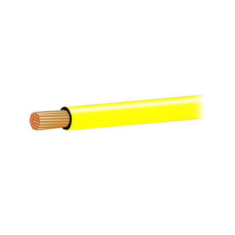 Autokabel 0,75mm2 žlutý