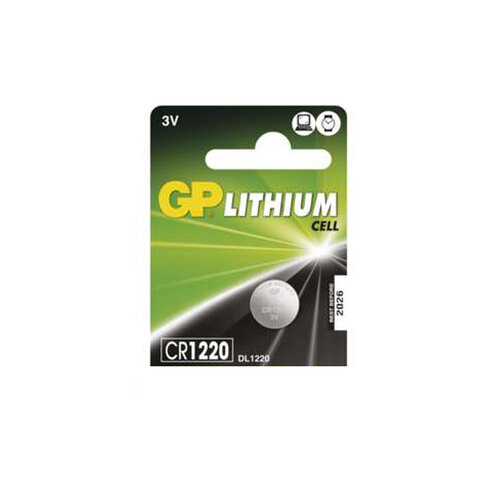 GP CR1220 baterie - lithium 3V