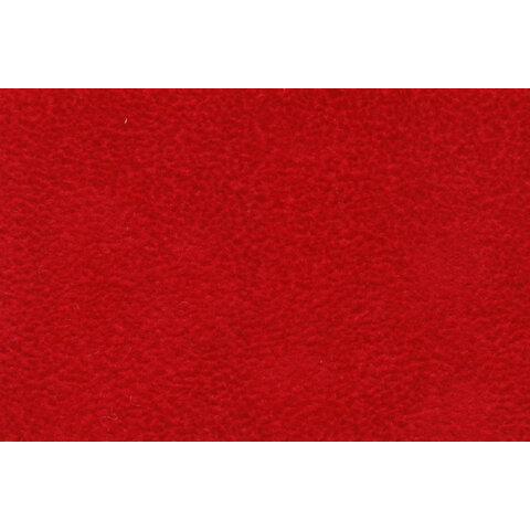 Umělý semiš červený