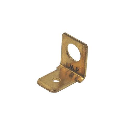 Nýtovací konektor 6,3mm / 90° / 5,2mm