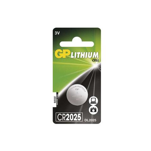 GP CR2025 Baterie - lithium 3V