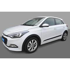 Ochranné lemy blatníků Hyundai i20