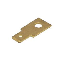 Nýtovací konektor 4,8mm - rovný