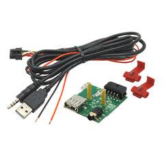 Adaptér pro USB konektor SsangYong Rexton (13->)