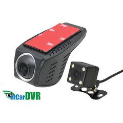 DVR kamera HD, Wi-Fi univerzální přední + zadní