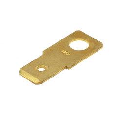 Nýtovací konektor 6,3mm - rovný