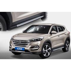 Boční stupačky Hyundai Tucson