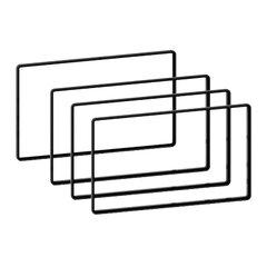 Sada distančních podložek 2DIN