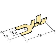 kabelová vidlička Ø 5,2mm
