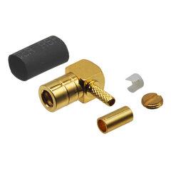 Anténní konektor SMB-B 90° samice