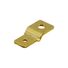 Nýtovací konektor 6,3mm - tvar ''S''