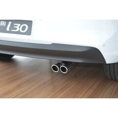 Dvojitá koncovka výfuku Hyundai i30