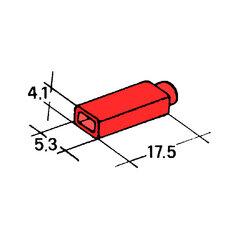 Kryt dutinky 2,8mm červený