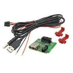 USB+JACK konektor Hyundai i20 II.